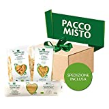 Aliveris mix pack medio 8x500g - Pasta da Agricoltura Biologica Italiana