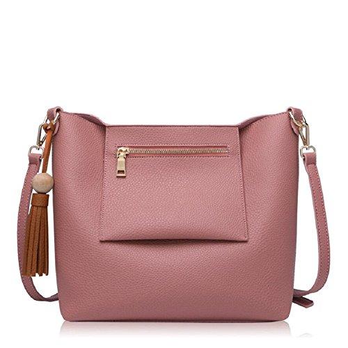 Z&N Einfache lässig Damen Umhängetasche Handtasche Outdoor-Tasche Reisetasche geeignet für alle Arten von Aussehen Hochzeit Dating Party Multi-Tasche E