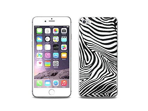 etuo Apple iPhone 8 - Hülle Foto Case - Zebra - Handyhülle Schutzhülle Etui Case Cover Tasche für Handy