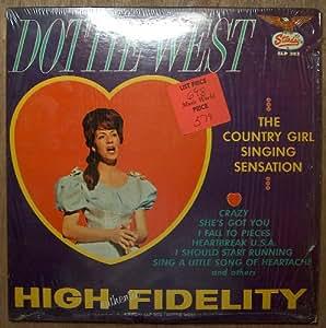 country girl singing sensation LP