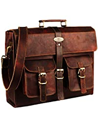 03095b748c Leather Laptop Bag | Leather Messenger for Men and Women | Briefcases for  Men | A