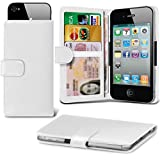 i-Tronixs (White +Earphones 145 x73) case for Medion Life