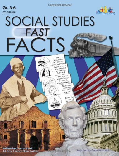 Social Studies Fast Facts: U.S. Geography (Natural & Manmade), U.S. States...
