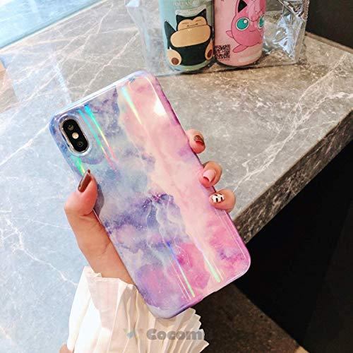 Cocomii Gradient Marble Armor iPhone 6S Plus/6 Plus Hülle [Bunter Granit] Ultra HD Klares Muster Verblasst Nicht Kratzfest Case Schutzhülle for Apple iPhone 6S Plus/6 Plus (GM.Blue/Purple) (Shield Plus Protector 6 I Phone)