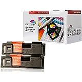 2x XL Toner Kompatibel zu Kyocera Mita TK18 Toner schwarz für Kyocera FS-1020D FS1018 MFP FS-1118MFP (7.200 Seiten)