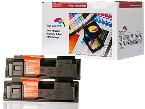 Preisvergleich Produktbild 2x XL Toner patrone für Kyocera Mita TK18 Toner schwarz für Kyocera FS-1020D FS1018 MFP FS-1118MFP (7.200 Seiten)