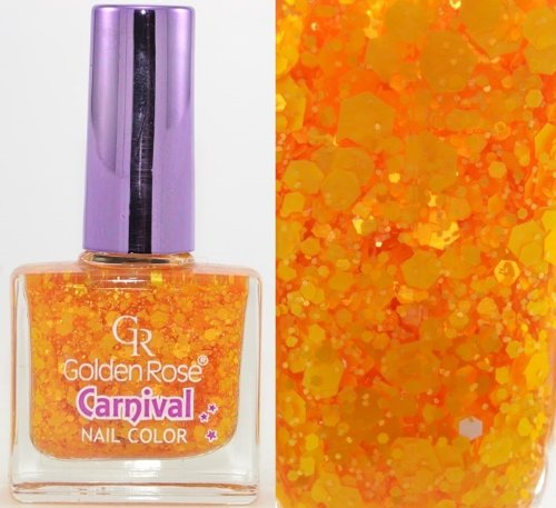 GOLDEN ROSE - Vernis Ongles Collection Carnival - 06