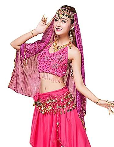 Costumes Jazz Danse Tops - YiJee Danse du Ventre Costume pour Femme