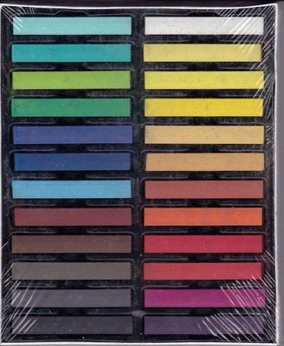 24 Farben Haarkreide Haartönung