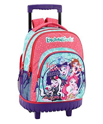 Enchantimals Oficial Mochila Escolar Grande Con Ruedas 320x140x460mm