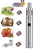 E Zigarette Starterset eGo One V2 Komplettset all inclusive E Zigarette Joyetech 3x American Stars Liquids ohne Nikotin 00 mg