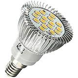 ampoule led e14 60 led blanc froid 3w 35 40w luminaires et eclairage. Black Bedroom Furniture Sets. Home Design Ideas