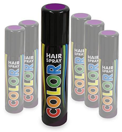 KarnevalsTeufel Hairspray Color buntes Haarspray Haarschmuck farbig ()