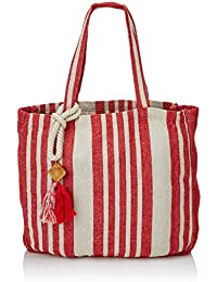Women's Secret PP-Cord Bag Red TG, Shopper y Bolso de Hombro para Mujer, Rojo (Rojo), 26x15x41 cm (W x H x L)