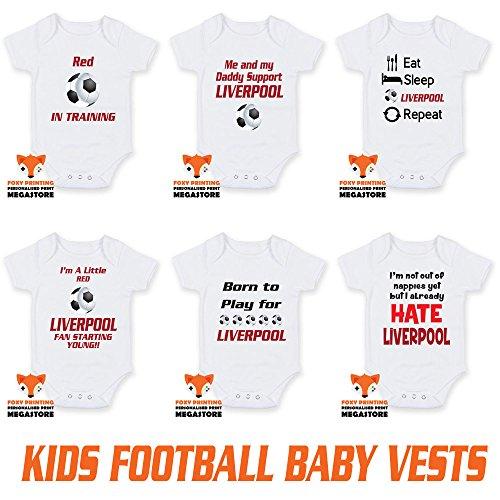 e96714f16a86d Liverpool-football-vests Body (3–6 mois) un cadeau idéal pour