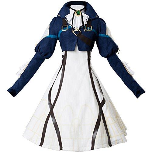 Vaioretto Ev?g?den Violet Evergarden Violet Dress Cosplay Kostüm Damen S