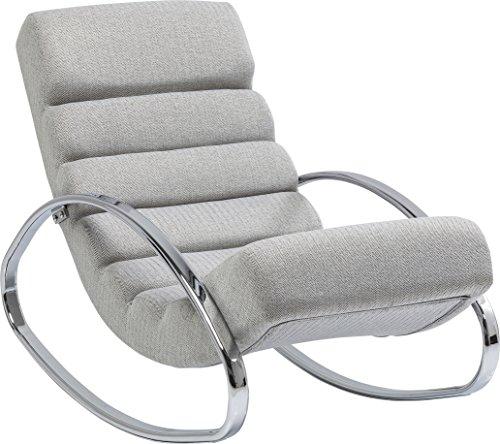 Kare Design Schaukelstuhl Manhattan, Relaxsessel mit Schaukelfunktion, Lounge Sessel mit...