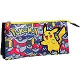 Pokemon - Estuche portatodo triple (CYP Imports PT-233-PK)