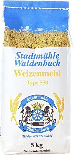 Weizenmehl Type 550 5 kg feinste Bäckerqualität