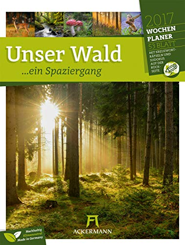 Unser Wald, ein Spaziergang - Wochenplaner 2020
