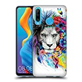 Official Pixie Cold King Of The Lions Cats Soft Gel Case Compatible for Huawei P30 Lite
