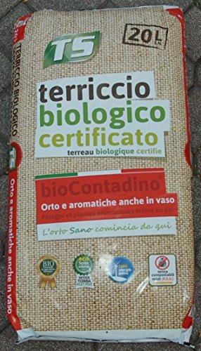Sustrato orgánico certificado para hortalizas y plantas aromáticas