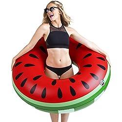 BigMouth Inc – Flotador Hinchable Melon Agua Sandia Gigante – Inflable Colchoneta Piscina Playa