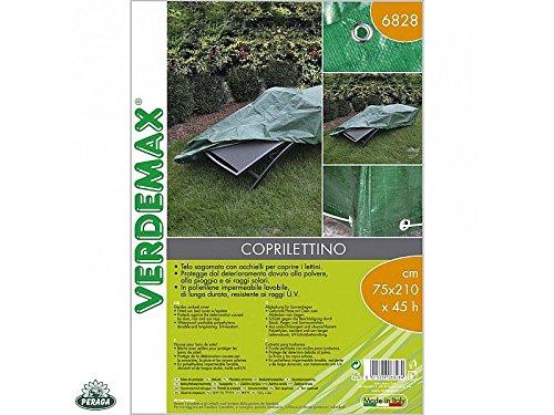 Verdemax 682875x 210x 45cm giardino sole Bed Cover