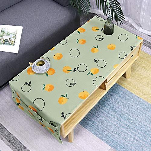 SUNNYAN Kleine frische Kaffeetisch Tischdecke Wohnzimmer Tischdecke wasserdicht Verbrühschutz Tuch einfache Kaffeetisch Tuch Staubtuch