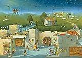Komm mit uns nach Bethlehem: Biblischer Adventskalender -
