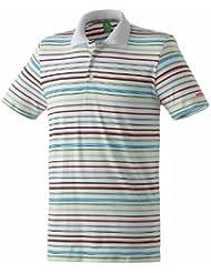 erima Poloshirt Stripes - Polo para niña, color multicolor, talla 15 años (164 cm)