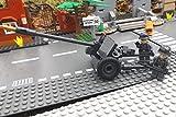 ✠ Panzerabwehrkanone PAK 40 inkl. Modbrix custom Minifiguren Wehrmacht Soldaten - Cobi Upgrade 2185 ✠
