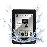 Waterproof case for Kindle Paperwhite . ITgut™ Kindle Paperwhite 6.6ft IP-68 Waterproof Schockproof Dirtproof Full Sealed Protection Case Cover for Kindle Paperwhite. (Black)