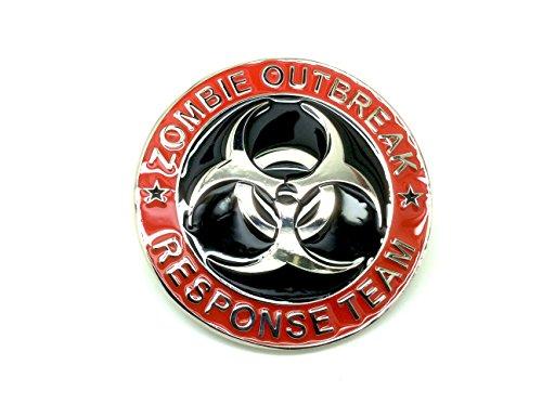 Zombie Outbreak Response Team Biohazard Gürtelschnalle Wappen