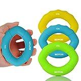 Handtrainer Stress Entlastung Squeeze Kugeln Griffringe Fingertrainer für Unterarmmuskulatur /Unterarm/Finger/Handmuskel