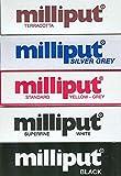 5 masillas epoxi Milliput, Color Amarillo y Gris