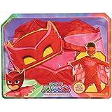 PJ Masks - Transfórmate en Buhíta, disfraz infantil, color rojo (Bandai 24602)