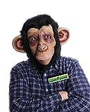 Máscara de Mono Disfraces Completa Máscara realista Animal Cara Chimpancé