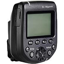 Elinchrom EL19366 - Equipo de radio Skyport HS plus Transmisor para Canon, negro