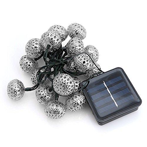 Trixes Solar Garten 20 LED Lichterkette im marokkanischen Stil