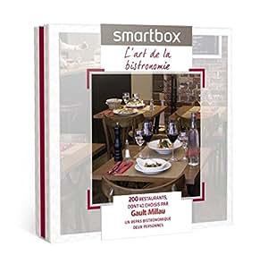 SMARTBOX - Coffret Cadeau - L'art de la bistronomie