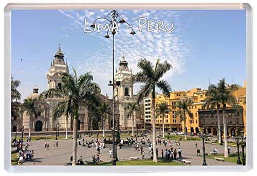 Lima - Peru - Jumbo Fridge Magnet - Brand New Gift/Present/Souvenir