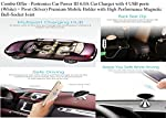 CAR CHARGER WITH FOUR USB PORTS : Imagine you are going for long drives with your friends and family. With Car Power III, every seat occupant, front or back, can charge his/her smart phone, tab, power-bank or digital camera. You do not need to give y...