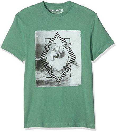 Billabong Volt SS-Camicia da uomo, UOMO, Verde (Smoke Jade), M