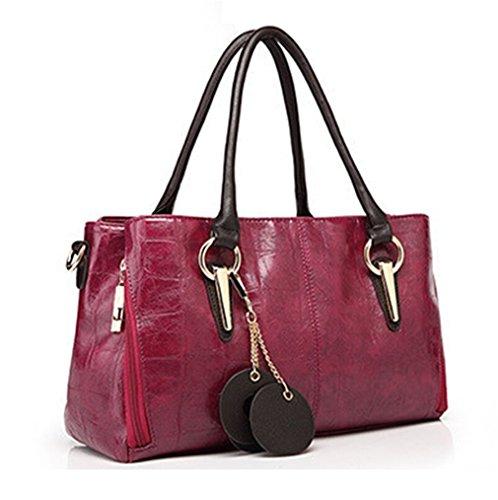 TianHengYi - Sacchetto donna rosso