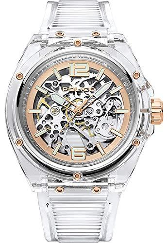 Police Herren-Uhren Analog Automatik One Size Kunststoff 87697037