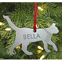 Christmas Personalised Cat Shape Bauble Gift For Cats Lovers Christma Christmas Tree Decoration Bauble Engraved Gift -L1432