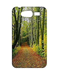 Mobifry Back case cover for Samsung S Duos 3D Mobile ( Printed design)