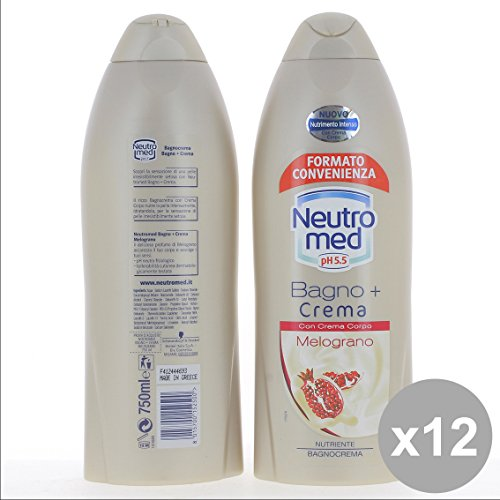 Set 12 NEUTROMED Bagno 750Ml Melograno - Cura del Corpo