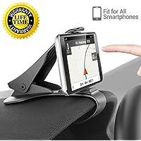 BrainWizz Support Téléphone Voiture Universel HUD - Fixation sur Tableau de Bord iPhone 7, iPhone 6 Autres Smartphones